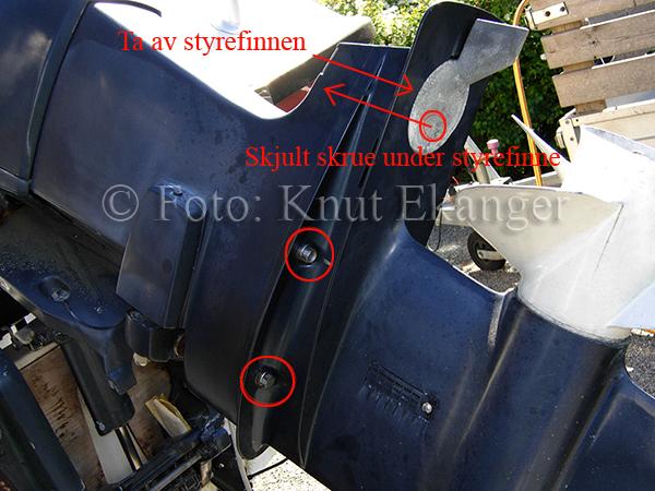 Impeller påhengsmotor